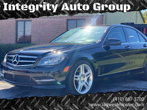 2011 Mercedes-Benz C-Class for sale at Integrity Auto Group in Westminister MD