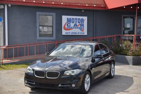 2015 BMW 5 Series for sale at Motor Car Concepts II - Kirkman Location in Orlando FL