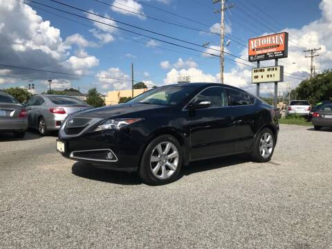 2010 Acura ZDX for sale at Autohaus of Greensboro in Greensboro NC