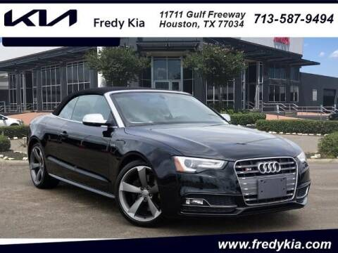 2017 Audi S5 for sale at FREDY KIA USED CARS in Houston TX