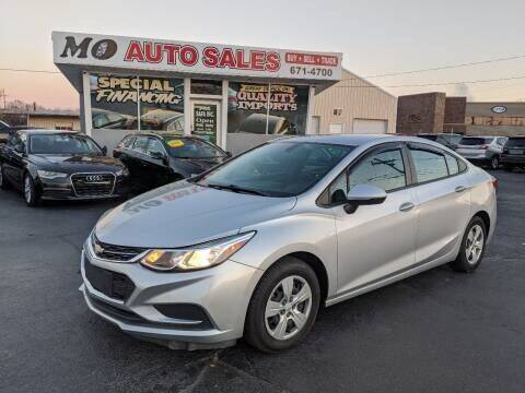 2018 Chevrolet Cruze for sale at Mo Auto Sales in Fairfield OH