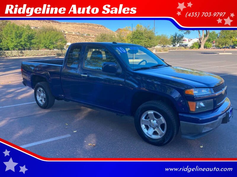 2010 Chevrolet Colorado for sale at Ridgeline Auto Sales in Saint George UT