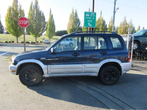 1999 Suzuki Grand Vitara for sale at Car Link Auto Sales LLC in Marysville WA