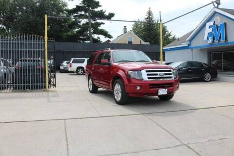 2013 Ford Expedition for sale at F & M AUTO SALES in Detroit MI
