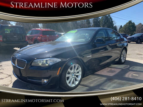 2012 BMW 5 Series for sale at Streamline Motors in Billings MT