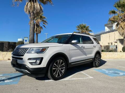 2017 Ford Explorer for sale at Motorcars Group Management - Bud Johnson Motor Co in San Antonio TX