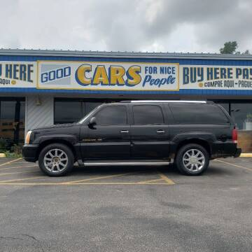 2004 Cadillac Escalade ESV for sale at Good Cars 4 Nice People in Omaha NE