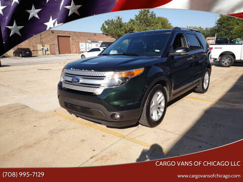 2013 Ford Explorer for sale at Cargo Vans of Chicago LLC in Mokena IL