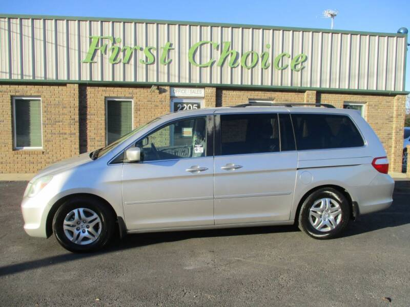 2007 Honda Odyssey for sale at First Choice Auto in Greenville SC