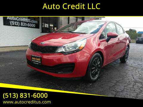 2014 Kia Rio for sale at Auto Credit LLC in Milford OH