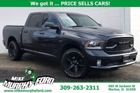 2018 RAM Ram Pickup 1500 for sale at Mike Murphy Ford in Morton IL