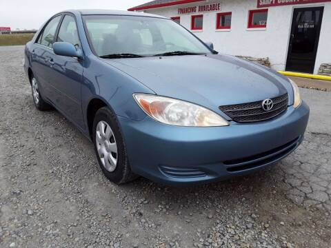 2003 Toyota Camry for sale at Sarpy County Motors in Springfield NE