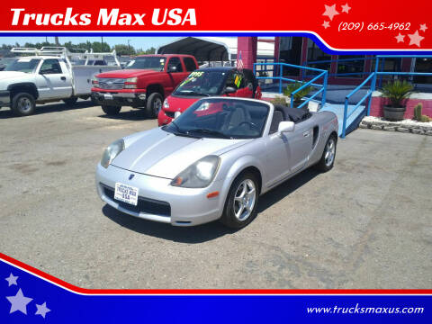 2001 Toyota MR2 Spyder for sale at Trucks Max USA in Manteca CA