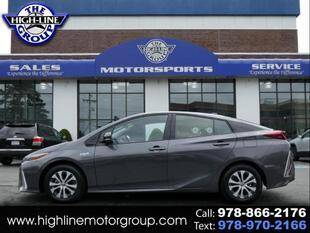 2020 Toyota Prius Prime for sale at Highline Group Motorsports in Lowell MA