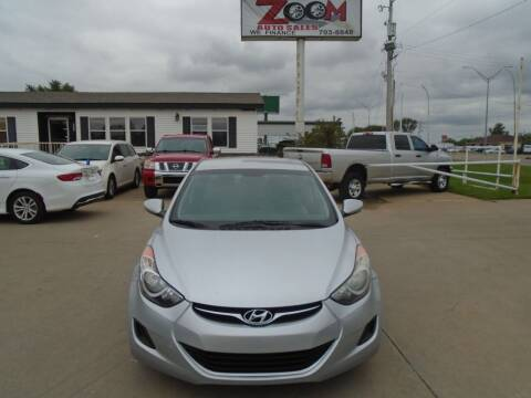 2013 Hyundai Elantra for sale at Zoom Auto Sales in Oklahoma City OK