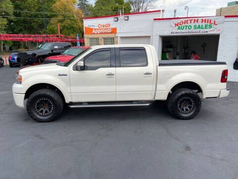 2008 Ford F-150 for sale at North Hill Auto Sales in Akron OH