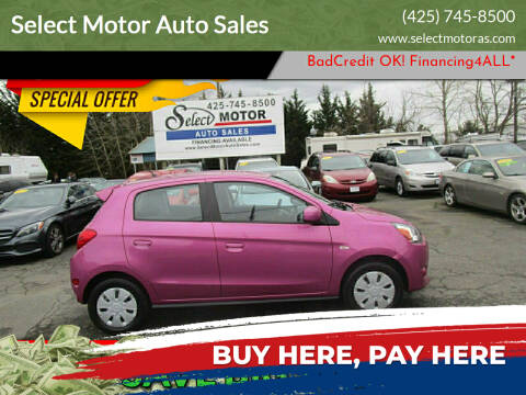 2015 Mitsubishi Mirage for sale at Select Motor Auto Sales in Lynnwood WA