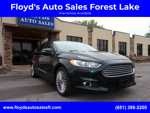2014 Ford Fusion for sale at Floyd's Auto Sales Forest Lake in Forest Lake MN