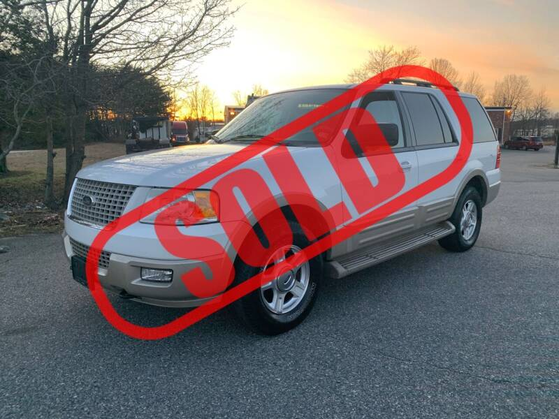 2006 Ford Expedition for sale at CarzStudio in Fredericksburg VA