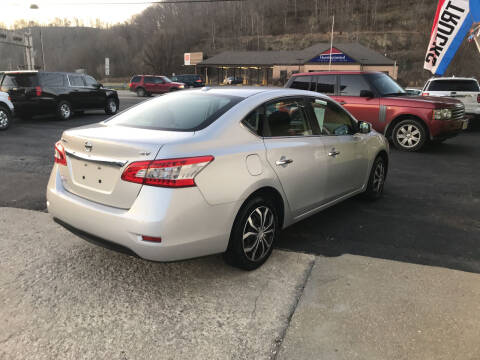 2015 Nissan Sentra for sale at PIONEER USED AUTOS & RV SALES in Lavalette WV
