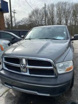 2011 RAM Ram Pickup 1500 for sale at LAKE CITY AUTO SALES - Jonesboro in Morrow GA