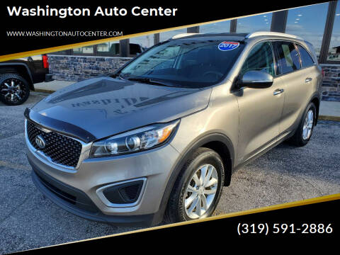 2017 Kia Sorento for sale at Washington Auto Center in Washington IA