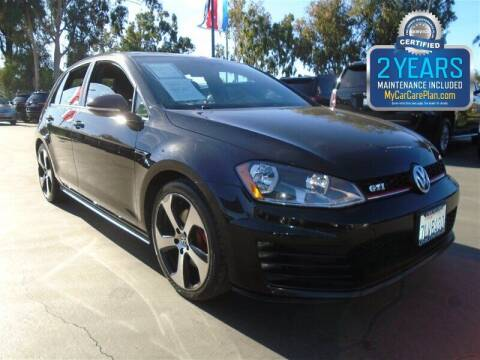 2015 Volkswagen Golf GTI for sale at Centre City Motors in Escondido CA