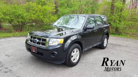 2011 Ford Escape for sale at Ryan Motors LLC in Warsaw IN