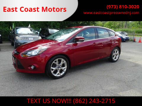 2014 Ford Focus for sale at East Coast Motors in Lake Hopatcong NJ