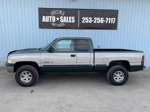 1998 Dodge Ram Pickup 1500 for sale at Austin's Auto Sales in Edgewood WA