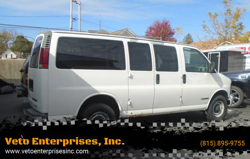 2000 Chevrolet Express Passenger for sale at Veto Enterprises, Inc. in Sycamore IL