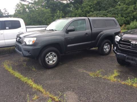 2013 Toyota Tacoma for sale at Route 102 Auto Sales  and Service in Lee MA