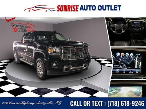 2018 GMC Sierra 2500HD for sale at Sunrise Auto Outlet in Amityville NY