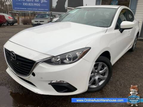 2016 Mazda MAZDA3 for sale at IMPORTS AUTO GROUP in Akron OH