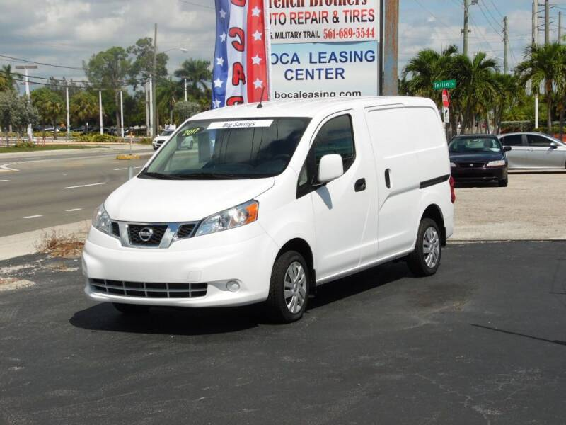 2017 Nissan NV200 for sale at Boca Leasing Center Inc. in West Palm Beach FL