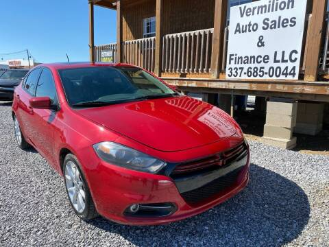 2013 Dodge Dart for sale at Vermilion Auto Sales & Finance in Erath LA