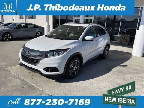 2021 Honda HR-V for sale at J P Thibodeaux Used Cars in New Iberia LA
