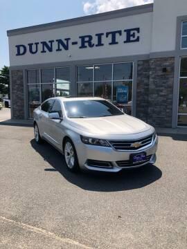 2014 Chevrolet Impala for sale at Dunn-Rite Auto Group in Kilmarnock VA