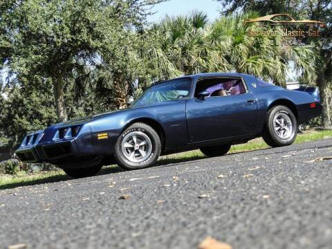 1981 Pontiac Firebird for sale at SURVIVOR CLASSIC CAR SERVICES in Palmetto FL