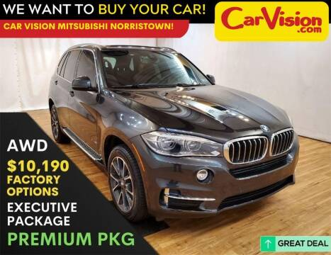 2018 BMW X5 for sale at Car Vision Mitsubishi Norristown in Trooper PA