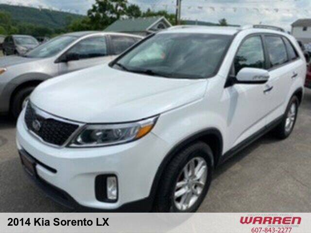 2014 Kia Sorento for sale at Warren Auto Sales in Oxford NY