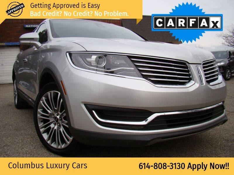 2016 Lincoln MKX for sale at Columbus Luxury Cars in Columbus OH