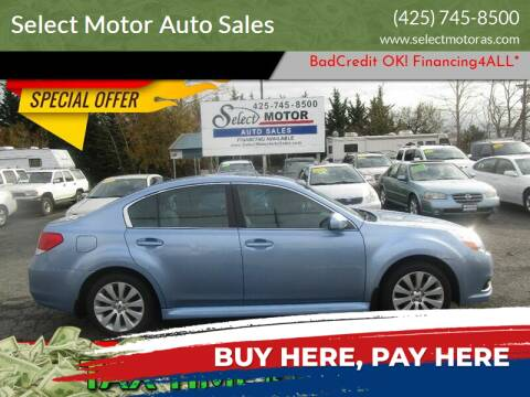 2011 Subaru Legacy for sale at Select Motor Auto Sales in Lynnwood WA