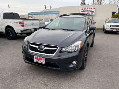 2015 Subaru XV Crosstrek for sale at Adams Auto Sales in Sacramento CA