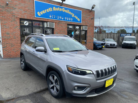 2019 Jeep Cherokee for sale at Everett Auto Gallery in Everett MA