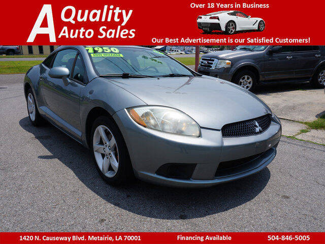 2009 Mitsubishi Eclipse for sale at A Quality Auto Sales in Metairie LA
