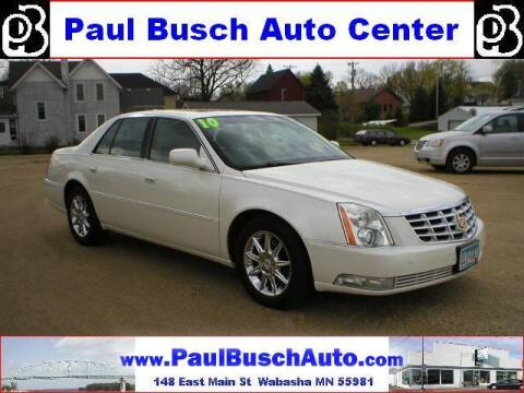 2010 Cadillac DTS for sale at Paul Busch Auto Center Inc in Wabasha MN