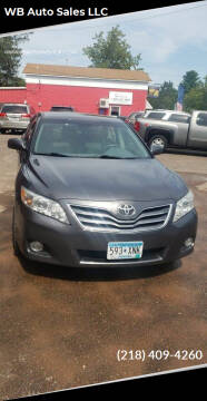 2011 Toyota Camry for sale at WB Auto Sales LLC in Barnum MN