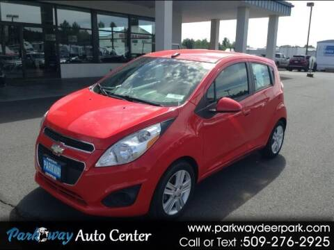 2013 Chevrolet Spark for sale at PARKWAY AUTO CENTER AND RV in Deer Park WA