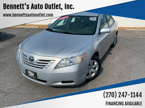 2007 Toyota Camry for sale at Bennett's Auto Outlet, Inc. in Mayfield KY